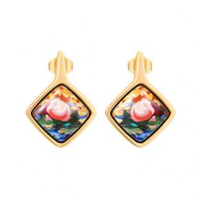 Earrings Carré