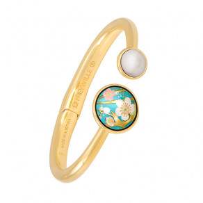 Spring Bracelet with Pearl